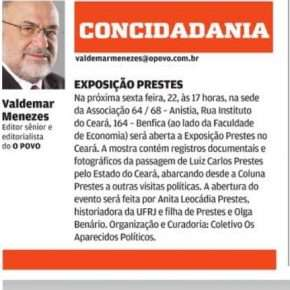 Exposio &quot;Prestes no Cear&quot;